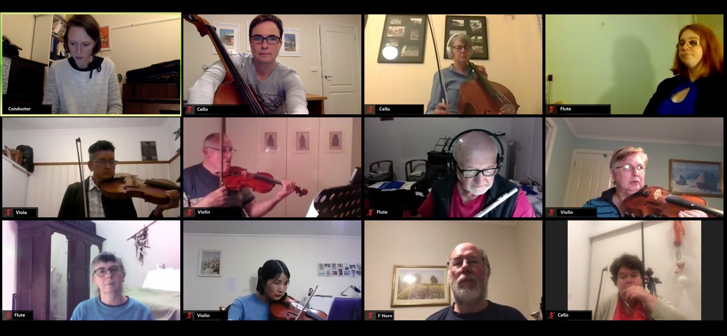 Zoom Rehearsal